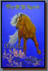 """Apollo Fabio"", a Genesis oil painting designed to give the feeling of a Fabio bookcover."